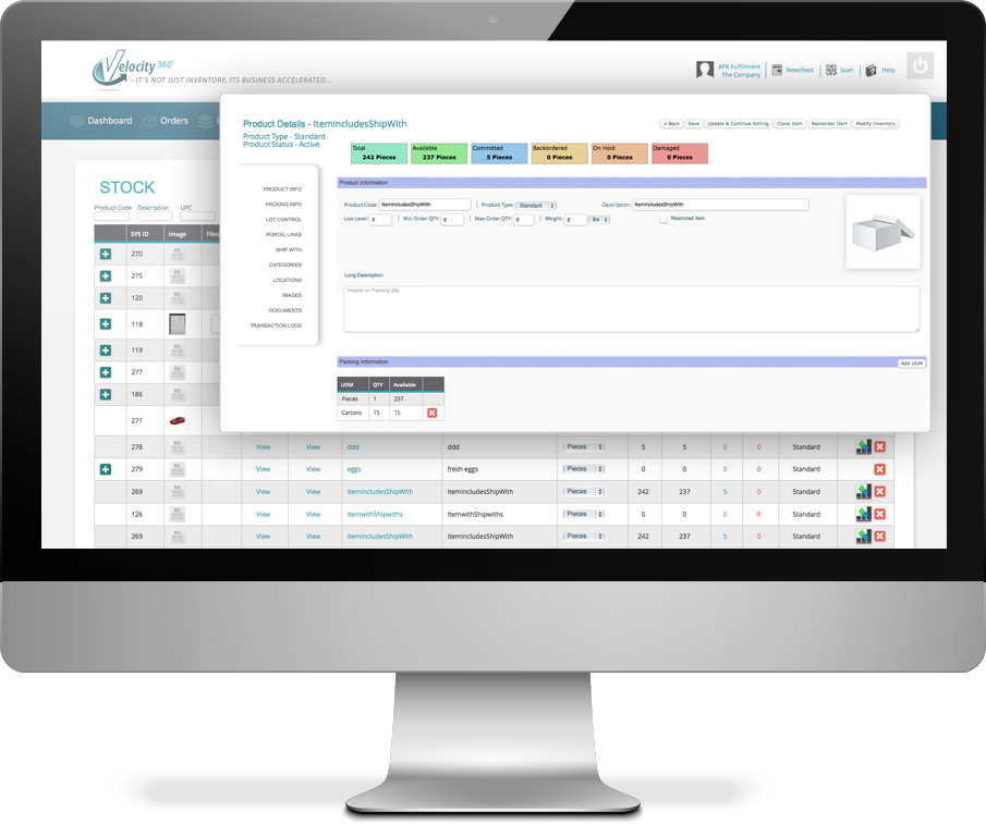 Fulfillment Software Real Time Inventory Tracking